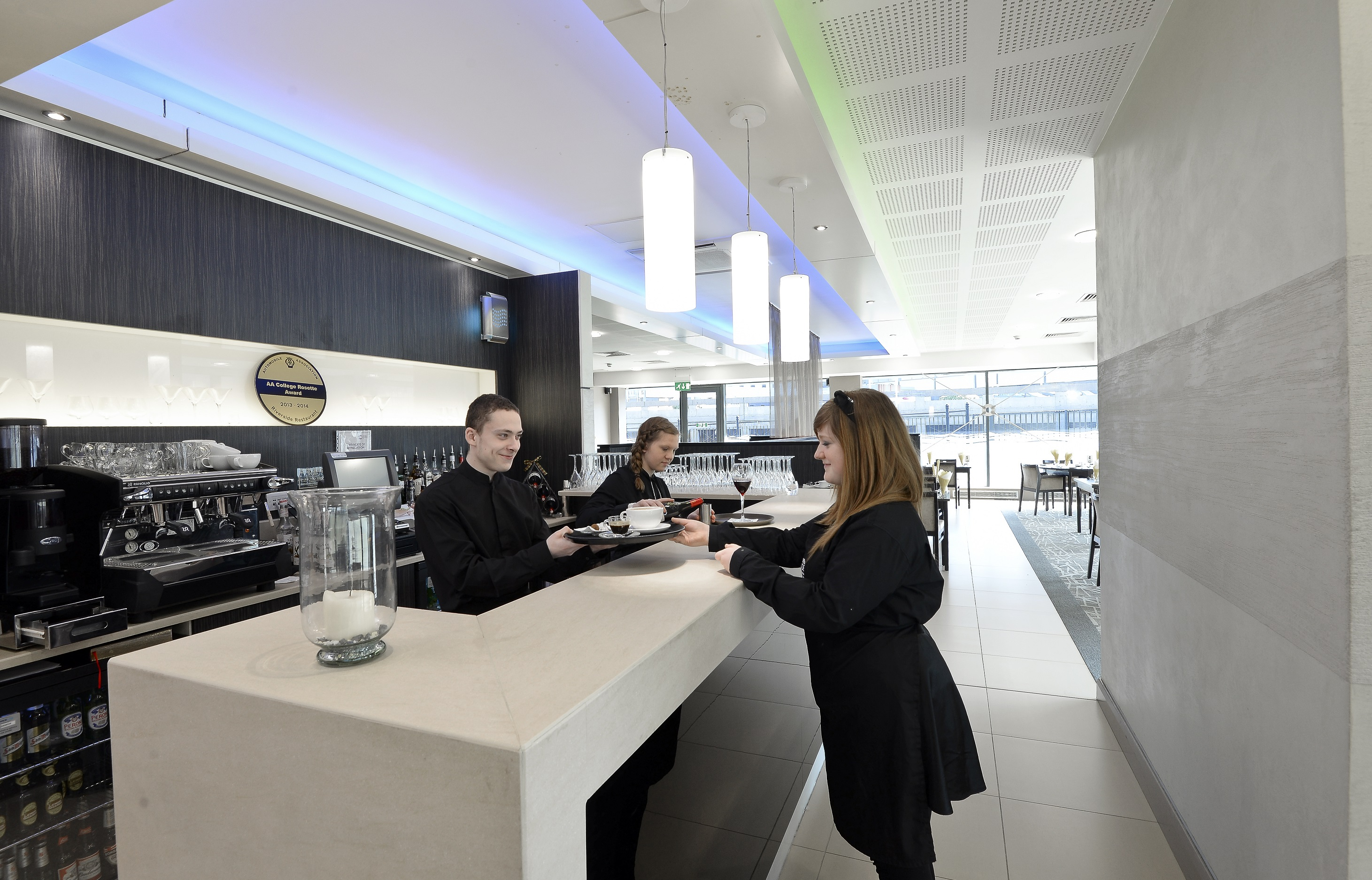 The Riverside Restaurant is open at Hopwood Hall College