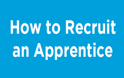How to recruit an apprentice