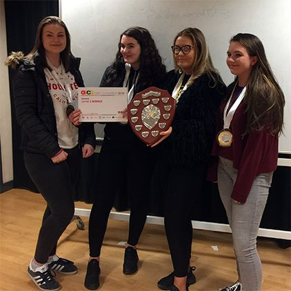 Students secure silverware at GM Skills Competitions