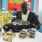 ESOL student steers career towards recycled art