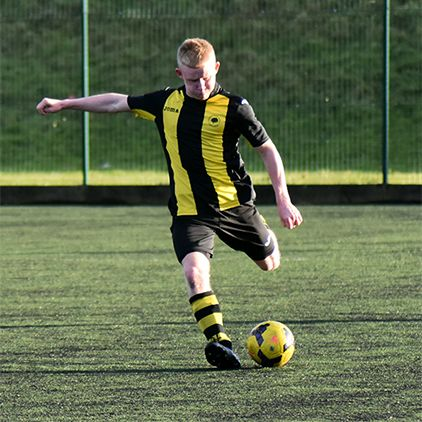 Four goals from Frost seals Hopwood Hall victory in freezing 8-0 win