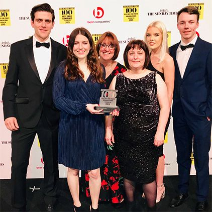 Hopwood Hall College makes Sunday Times top 100 organisations